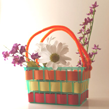 Memorial Day Flower Basket