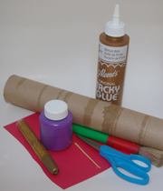 paper tube castle supplies