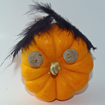 Pumpkin head craft