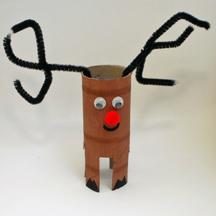 how to make reindeer antlers out of pipe cleaners
