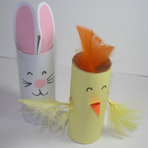 Free Preschool Crafts Paper Tube Crafts